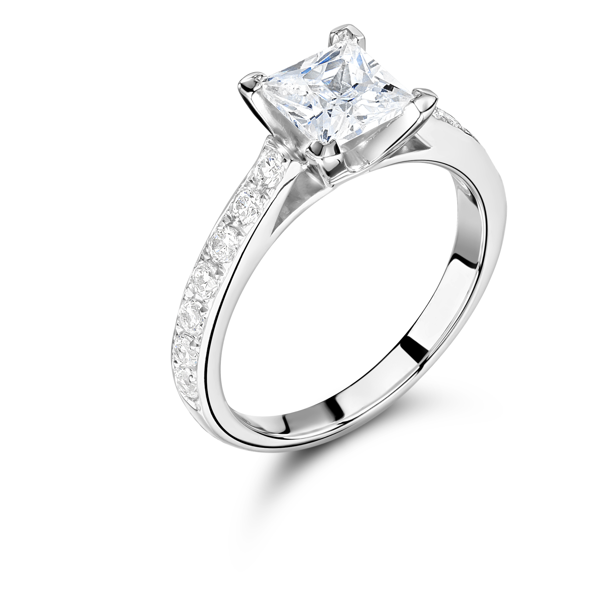 diamond set grain wedding rounded ring product white round gold