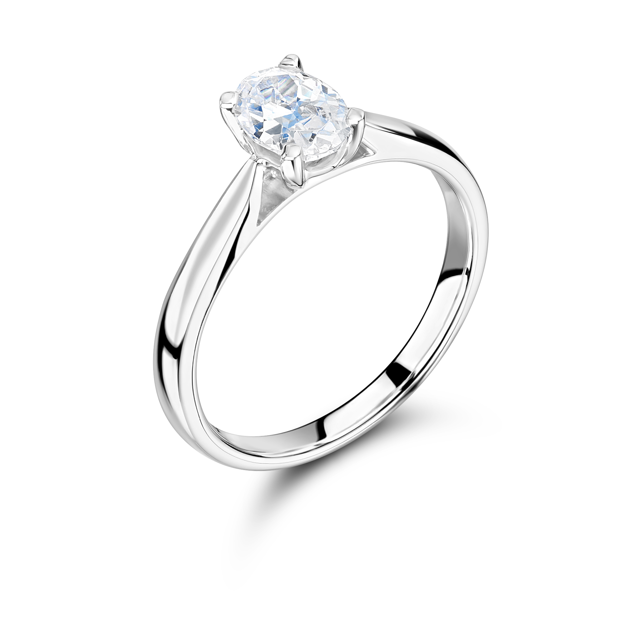 diamond star diamonds halo intl engagement oval ring estelle cut shaped product